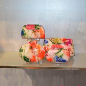Bolsos fiesta flores