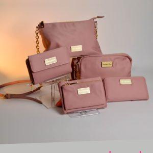 Bolsos Don Algodon rosa